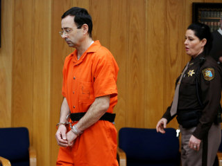 William Strampel, Larry Nassar's MSU boss, hit with sex charges