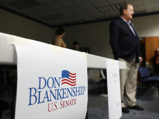 Ex-coal boss and ex-convict Blankenship is wild card in W.Va. GOP primary