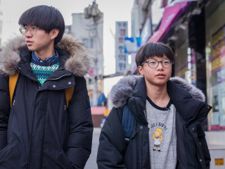 They escaped Kim Jong Un. Now these young North Korean defectors just want to grow up.