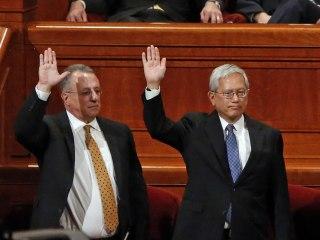 New Asian-American, Brazilian apostles make Mormon history