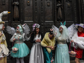 Christians around the world observe Easter week