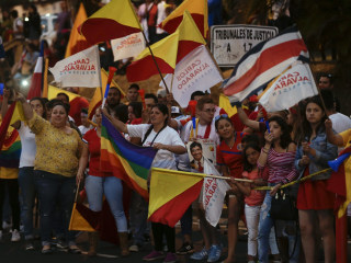 Ruling party wins Costa Rican presidency with support for gay rights
