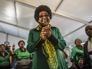 South African anti-apartheid stalwart Winnie Mandela dies at 81
