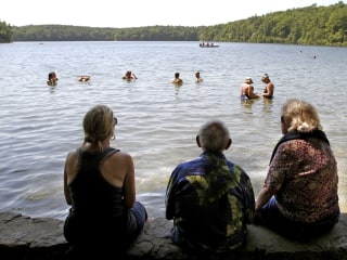 Famed Walden Pond, which inspired Henry David Thoreau, is being killed by urine