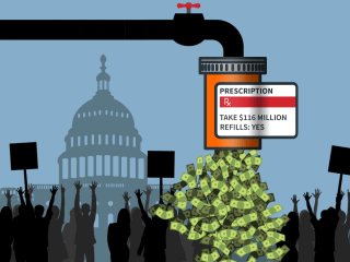 Patient advocacy groups take in millions from drugmakers. Is there a payback?