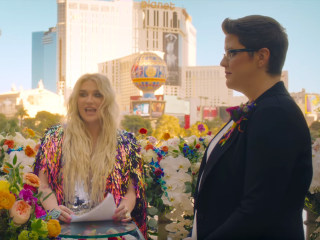 Kesha officiates same-sex wedding in new music video