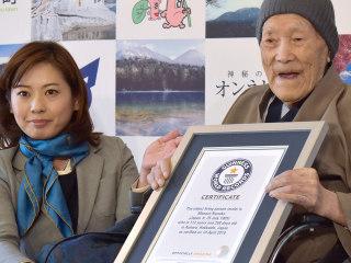 World's oldest living man, 112, credits longevity to desserts