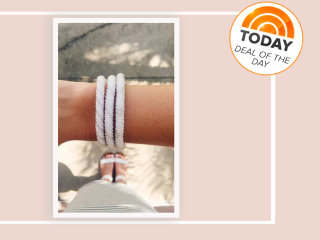 Deal of the Day: 25 percent off glass beaded bracelets from Sashka