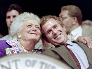 Barbara Bush remembered as fierce and loyal champion of family and literacy
