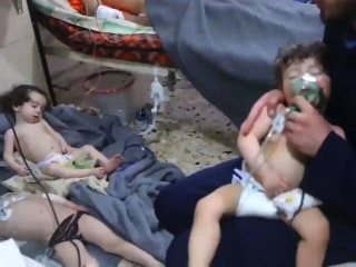 Chemical weapons inspectors reach Syrian town of Douma
