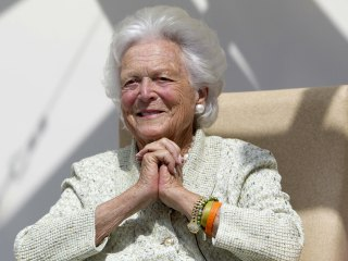 Barbara Bush death: Mourners pay final respects to former first lady