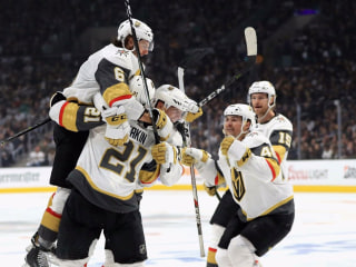 Golden Knights sweep Kings as storybook expansion season continues