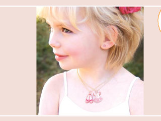 Deal of the Day: 70 percent off crystal adorned ballerina necklace sets