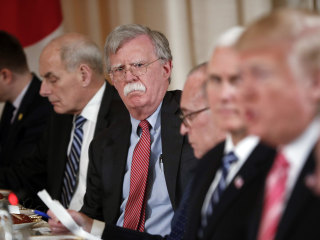 John Bolton chaired anti-Muslim think tank