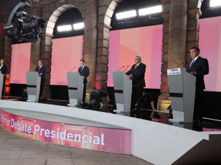 Mexico presidential debate: Front-runner Lopez Obrador defends amnesty to fight drug violence