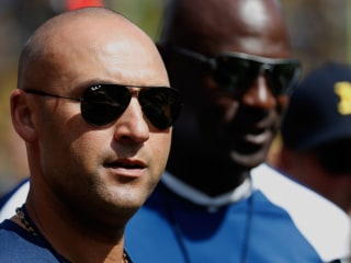 Derek Jeter calls reporter 'mentally weak' for asking about Marlins' tanking