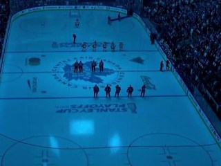 Maple Leafs hold moment of silence for victims of Toronto tragedy