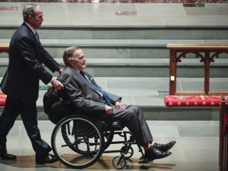 George H.W. Bush hospitalized after infection spreads to his blood