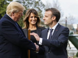 Macron brings his Trump charm offensive stateside
