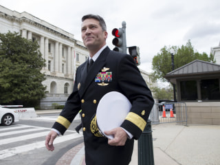 White House stands by embattled VA nominee Ronny Jackson
