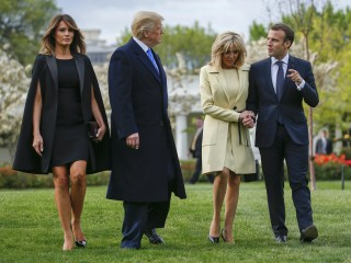 'He is perfect.' Trump welcomes Macron during first state visit