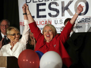 Republican Debbie Lesko wins Arizona special election, NBC News projects