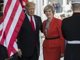 White House: Trump to make first trip to U.K. in July