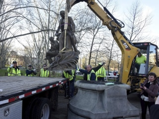 'Oh! Susanna' songwriter's statue removed from Pittsburgh park after criticism