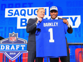 Giants hope they found a generational talent with RB Saquon Barkley