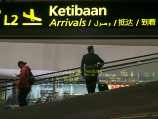 Syrian man, Hassan al Kontar, is stranded at Malaysian airport for nearly 60 days