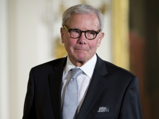 Tom Brokaw denies sexually harassing former NBC News colleague
