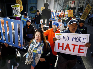 U.S. May Day protests target Trump, fall elections