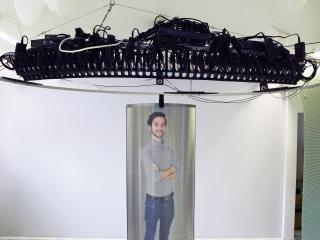 Futuristic 'hologram' tech promises ultra-realistic human telepresence