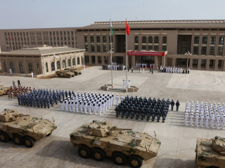 Pentagon accuses Chinese of blinding Djibouti-based U.S. pilots with lasers