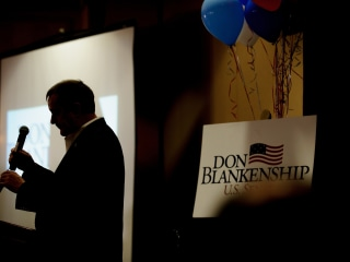 Blankenship concedes in West Virginia Senate GOP primary