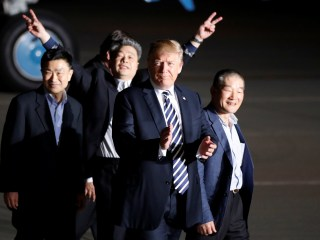 Trump welcomes American detainees freed from North Korea