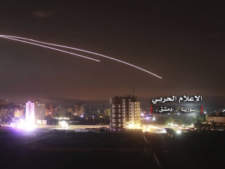 Israel says it strikes dozens of Iranian targets in Syria