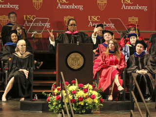 Oprah Winfrey takes aim at fake news, misinformation in speech to USC graduates