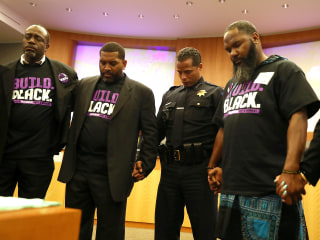 Black police chiefs grapple with officers' treatment of young black men