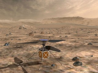 NASA to fly a helicopter on Mars, marking a first for interplanetary travel