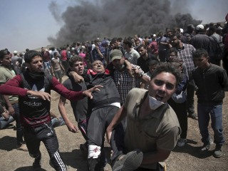 Day of chaos on the Gaza Strip