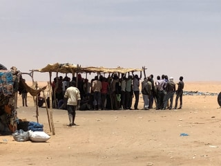 Migrant crisis emerges in Sahara Desert on Algeria-Niger border, IOM says