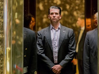 Trump Jr. told Senate he didn't recall telling father about Russian meeting