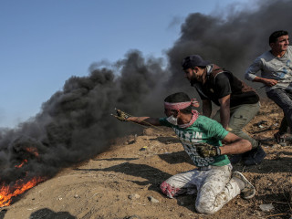 Hamas says most of protesters killed by Israel in Gaza were members