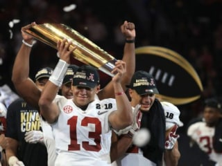 Alabama star QB admits he would've transferred if he didn't play in championship