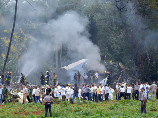 More than 100 killed when Cuban airliner crashes after takeoff