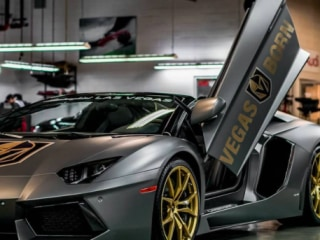 Sweet Ride: Check out Vegas Golden Knights' lucky Lamborghini