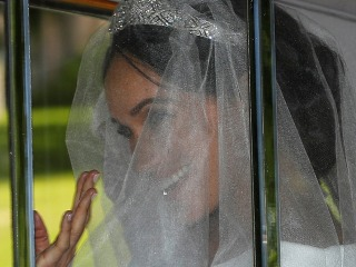 Meghan Markle's wedding dress was designed by Clare Waight Keller, artistic director of Givenchy