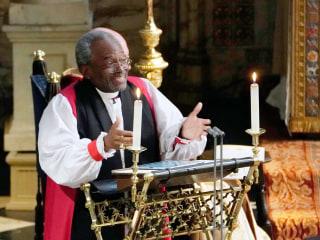 Rev. Michael Curry surprises with sermon touching on civil rights at royal wedding