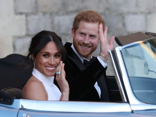 British royal family thanks those who celebrated Meghan and Prince Harry's wedding